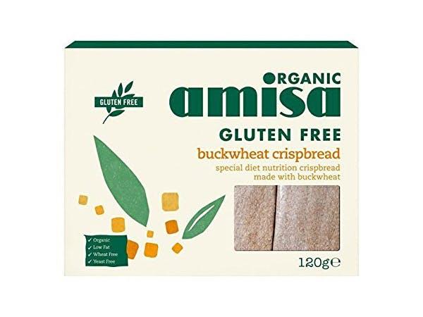 Amisa  Buckwheat Wholegrain Organic Crispbread