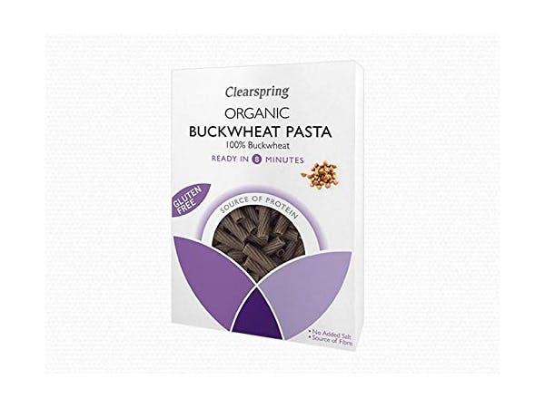 Clearspring  Organic Gluten Free Buckwheat Tortiglioni Pasta