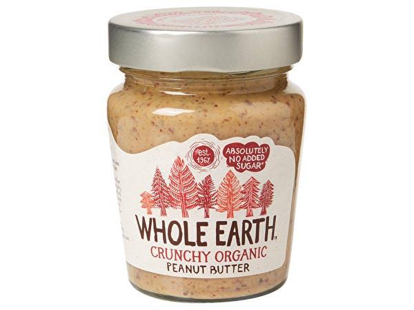 Whole Earth  Peanut Butter - Organic Crunchy