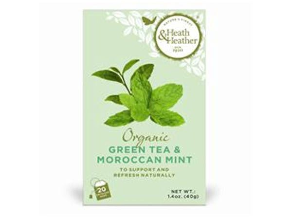Heath & Heather  Organic Green Tea & Moroccan Mint
