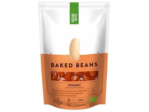 Auga  Organic White Beans in Tomato Sauce