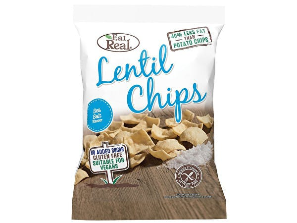 Eat Real  Sea Salt Lentil Chips