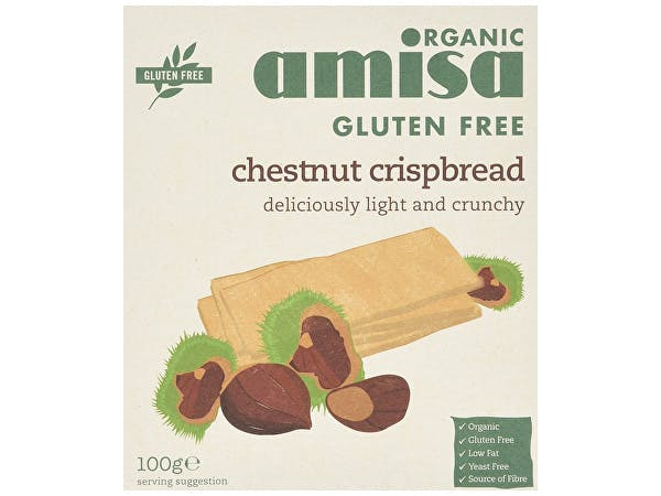 Amisa  Chestnut Organic Crispbread