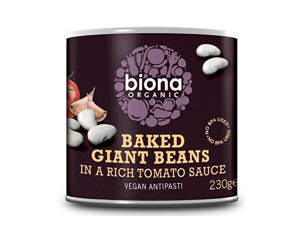 Biona  Baked Giant Beans In Tomato Sauce - Organic