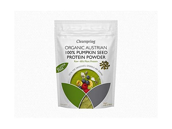 Clearspring  Organic 100% Pumpkin Seed Protein Powder