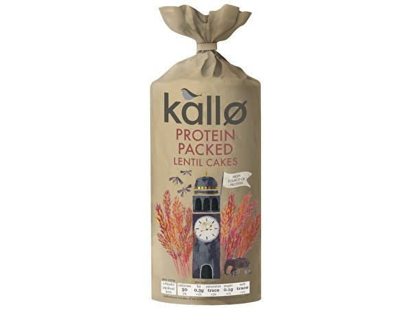 Kallo  Protein Packed Lentil Cakes