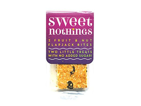 Sweet Nothings  Fruit + Nut Flapjack Bites