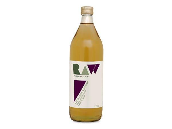Raw/H  Organic Raw Apple Cider Vinegar - With The Mother
