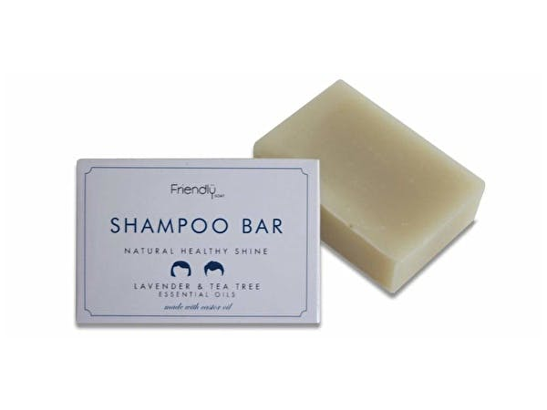 Natural Shampoo Bar - Lavender & Tea Tree