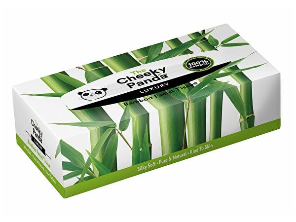 Sustainable Bamboo Facial Tissues - Box