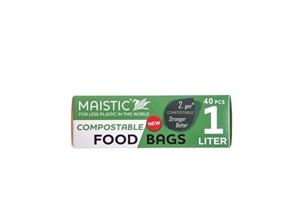 2.Gen Compostable Food Bag 1Ltr