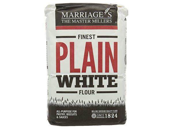 Marriages  Finest Plain White Flour