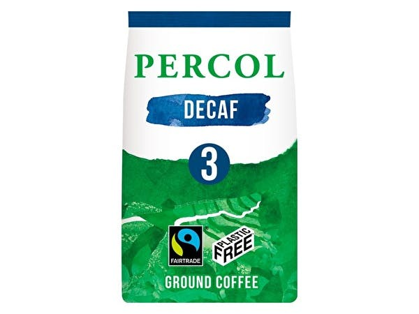 Delicious Decaf Ground Coffee - Plastic Free