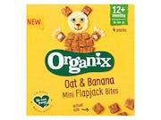 Mini Flapjack Bites - Oat & Banana